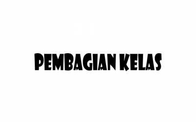 DAFTAR PEMBAGIAN KELAS XII TAHUN AJARAN 2021/2020
